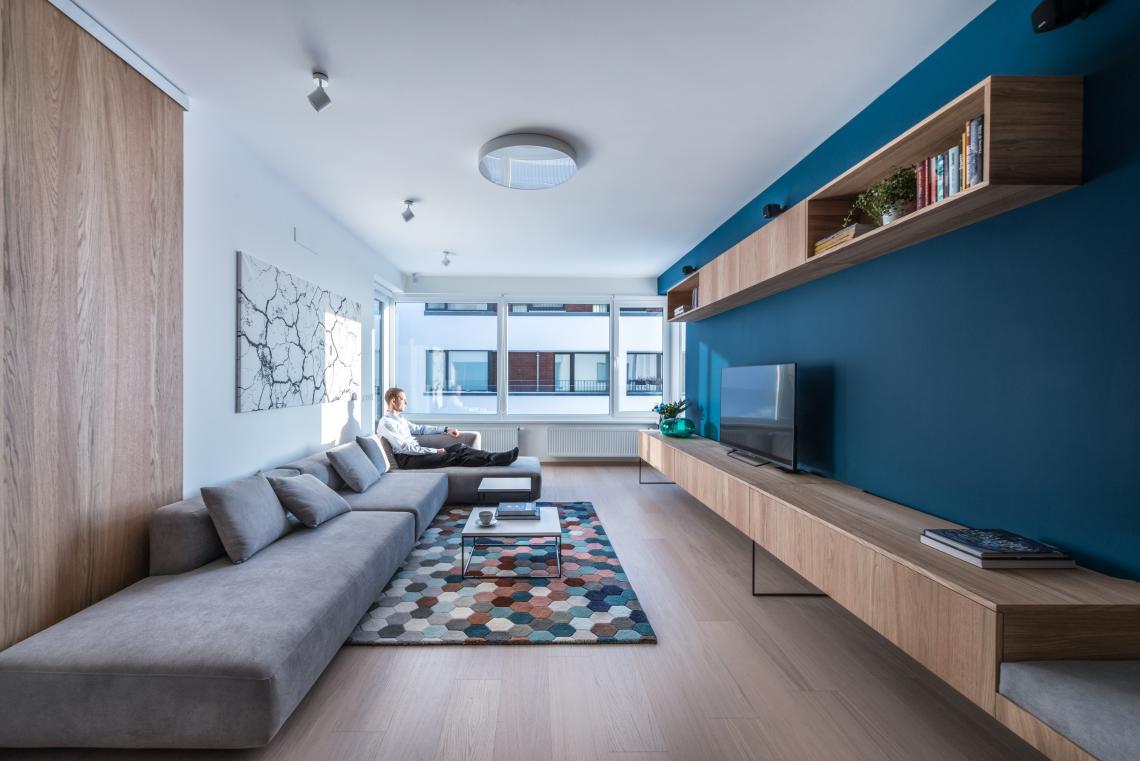 Interior design eines zwei zimmer wohnung bratislava for Wohnung interior