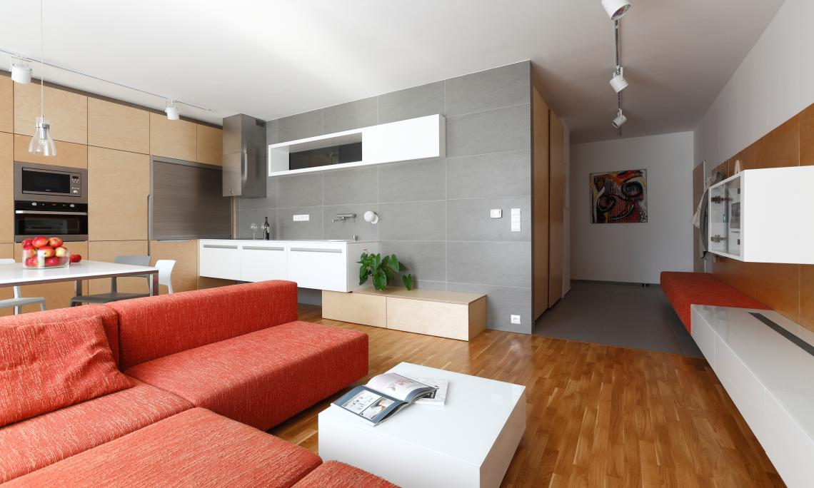 Minimalistische Wohnung Vinohradis, Bratislava, Slowakei | Rules