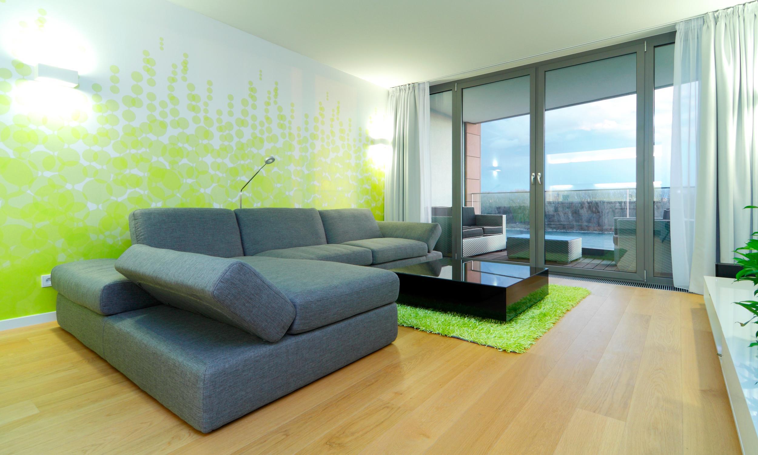 Sofa Mit Ausblick Auf Die Donau