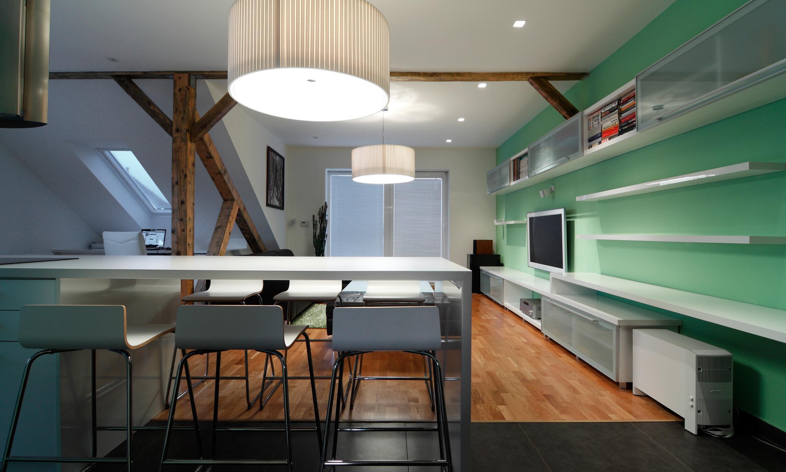 Dachwohnung, Bratislava, Slowakei | RULES Architekten