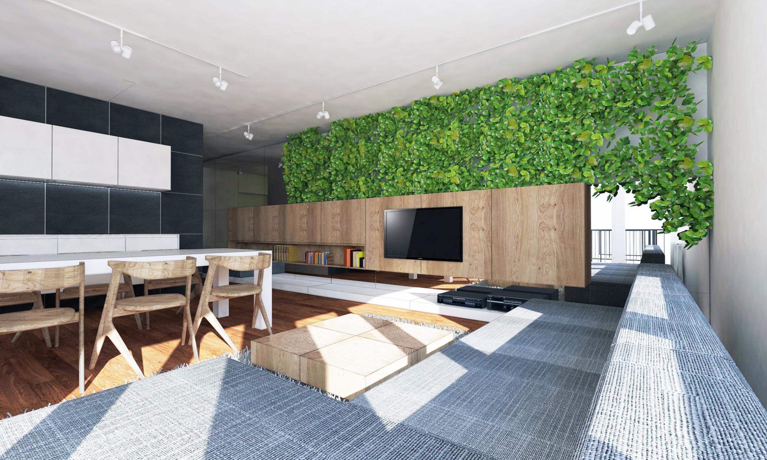 Erfreut Innenarchitektur Küche Wohnzimmer Galerie - Küche Set Ideen ...