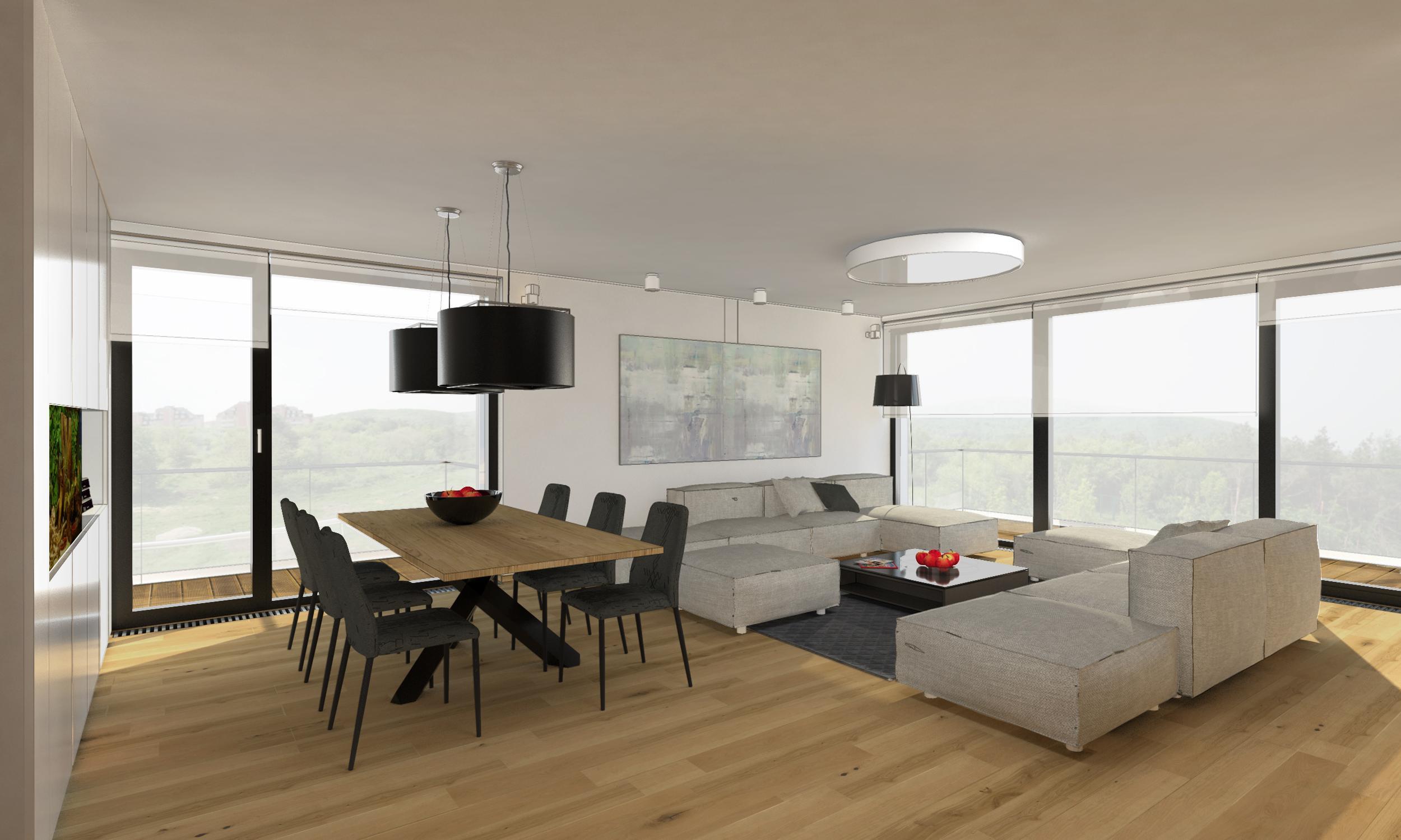Gro es apartment villa vista bratislava slowakei for Innenraum design blog