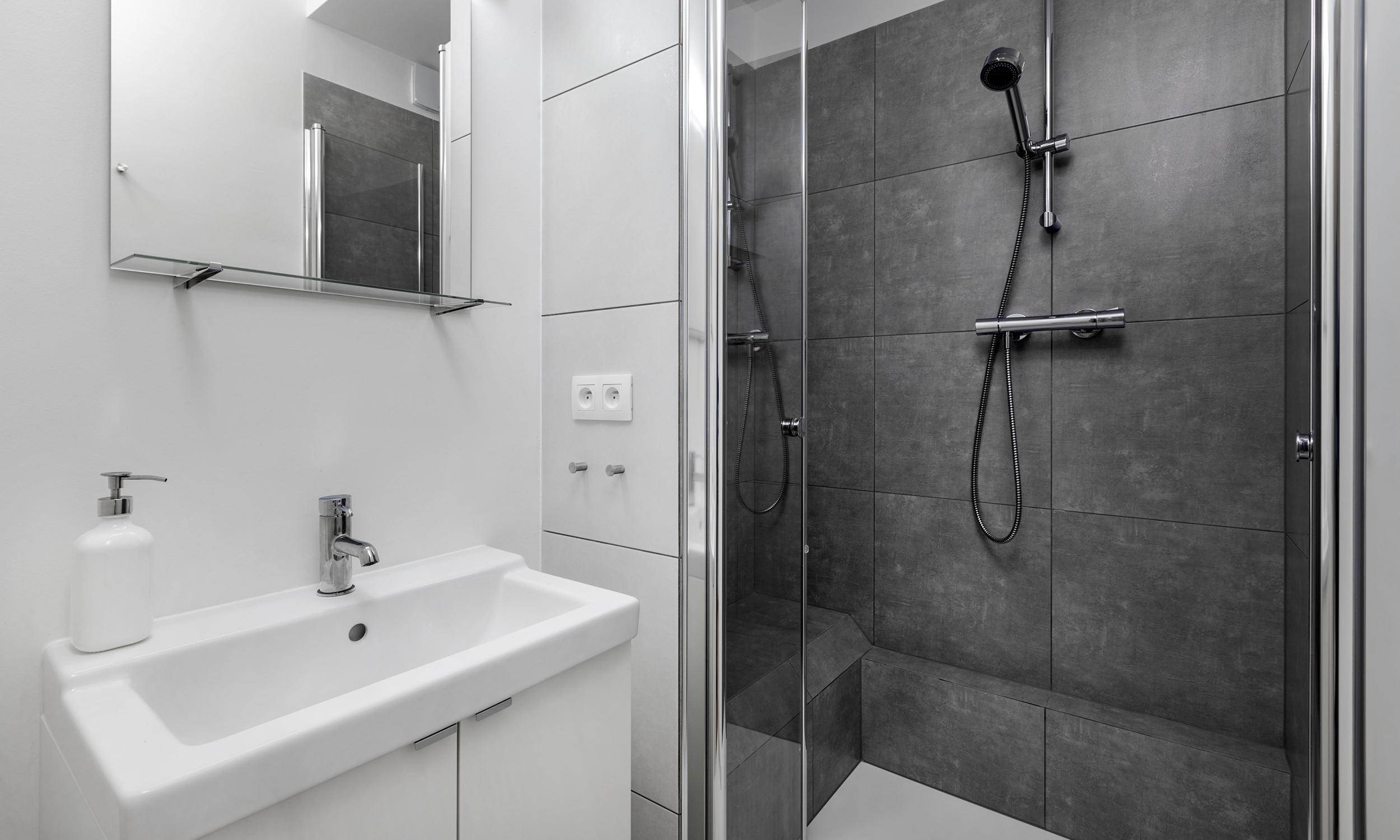badezimmer rules architekten. Black Bedroom Furniture Sets. Home Design Ideas