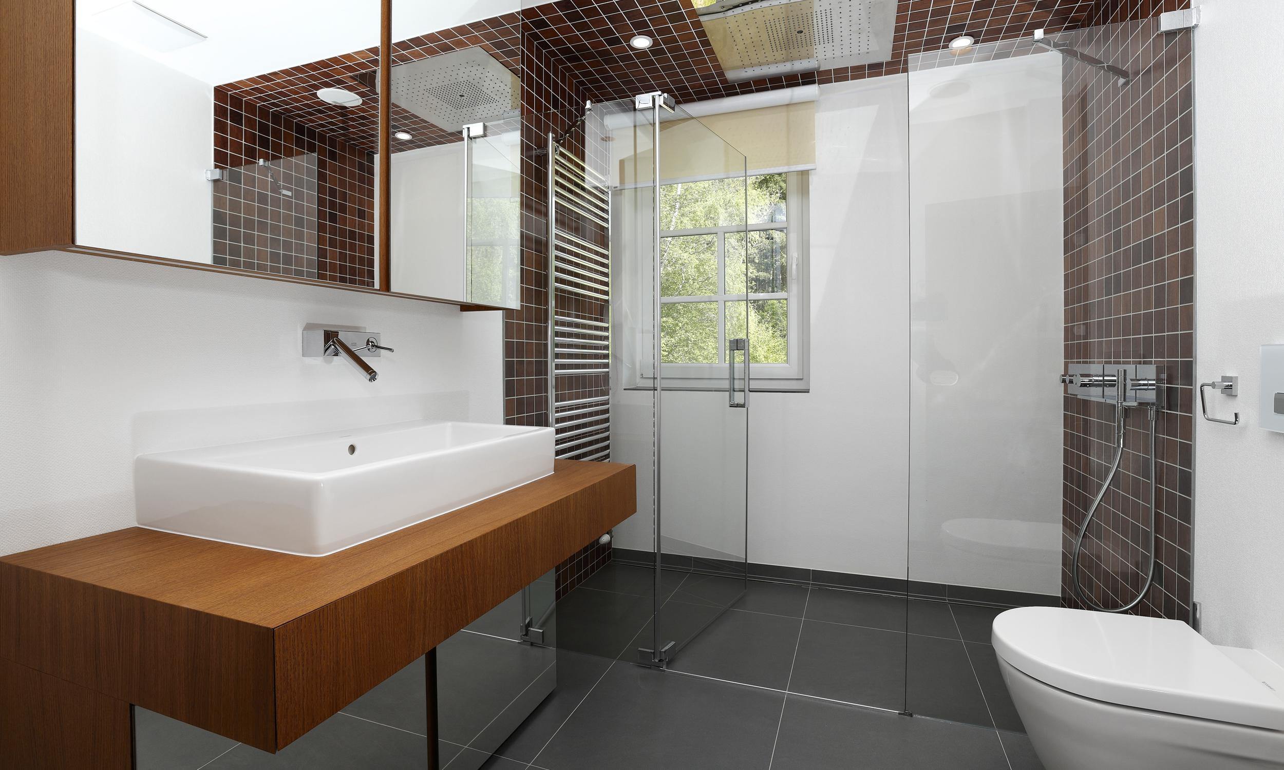 Dusche Halbrund Gemauert : Gleiche Ebene Dusche : Projekt Ski Wohnung Semmering Stuhleck