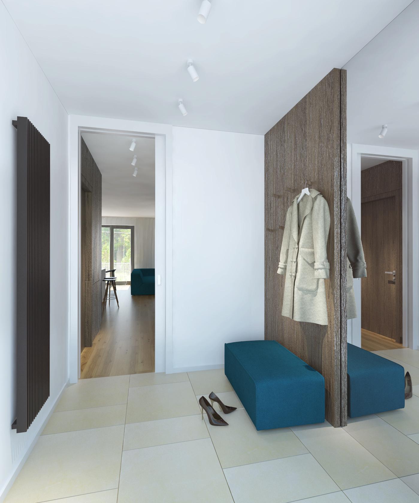 Verwenden Von Spiegeln Im Inneren Des Wohnzimmers Um Den: RULES Architekten