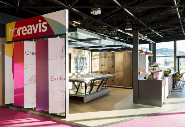 Messestand HB Reavis Mapic 2017, Cannes, Frankreich